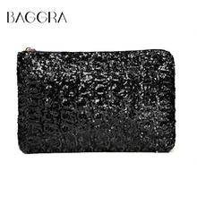 Baggra Clutch Women Dazzling Bag Ladies Sequins Glitter Sparkling Handbag Bolsos Sac A Main Femme Evening Party Bolsas Femininas