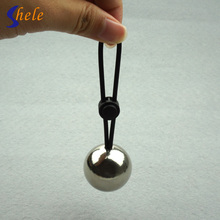 SHELE Adjustable Penis Rings Exerciser With Metal Ball Penis Enlargement Weight Hanger Stretcher Extender Sex Toy For Men Device