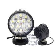 2Pcs ovovs hot sales 4inch round 42w led work light bulbs tractor driving light 3500 lm spot light 12v for trucks 4x4 ATV
