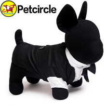 Petcircle Hot Sale Dog Suit Clothes The Groom Dress Pet Clothes Black Clothing For Pet In The Spring And Autumn Free Shipping