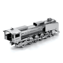3D Metal Puzzle Children Puzzle Model Adult Puzzle Puzzle Jigsaw Train  Locomotive  kids Toys