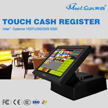 factory wholesale all in one pos system touch screen all in one pos pc/point of sale pos system Cash Register Machine