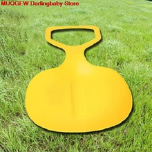 Grassland Desert Snow Sled Sledge Winter Toboggan Outdoor Sport Skiing Board Fun Funny Gadgets Novelty Interesting Toys Sports(China)