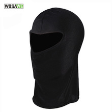 WOSAWE Outdoor Sports Bicycle Cycling Motorcycle Dustproof Masks Hood Hat Veil Balaclava UV Full Face Mask Cycling Caps