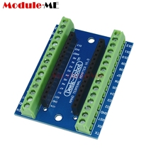 10PCS New Terminal Adapter Board for Arduino Nano V3.0 AVR ATMEGA328P-AU Module(China)