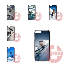 Soft TPU Silicon Popular Hot Snow Or Die Ski Snowboard For Apple iPhone 4 4S 5 5C SE 6 6S 7 7S Plus 4.7 5.5