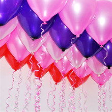 5pcs Colorful Pearl Latex Balloon Float Air Balls  Inflatable round balloon Wedding Party Decoration Birthday Children Party