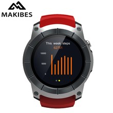 [NEW] Makibes G05 GPS Sports Watch 1.3'' Color Screen Smart Watch multi-sport Smartwatch Bluetooth 4.0 built-in GPS chip MTK2503(China)