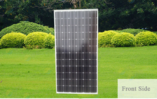 crystalline mono solar panel 400W equal to mono solar panel 100w 4pcs for 12V solar battery system or 24v battery system