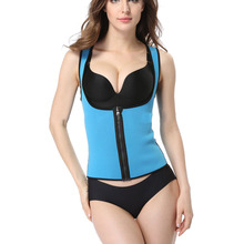 New Women Sport  Corset Vest Advanced Chloride Butyl Rubber Waist Cincher Trainer Workout Suit Waist Training Shaper Body Ladies