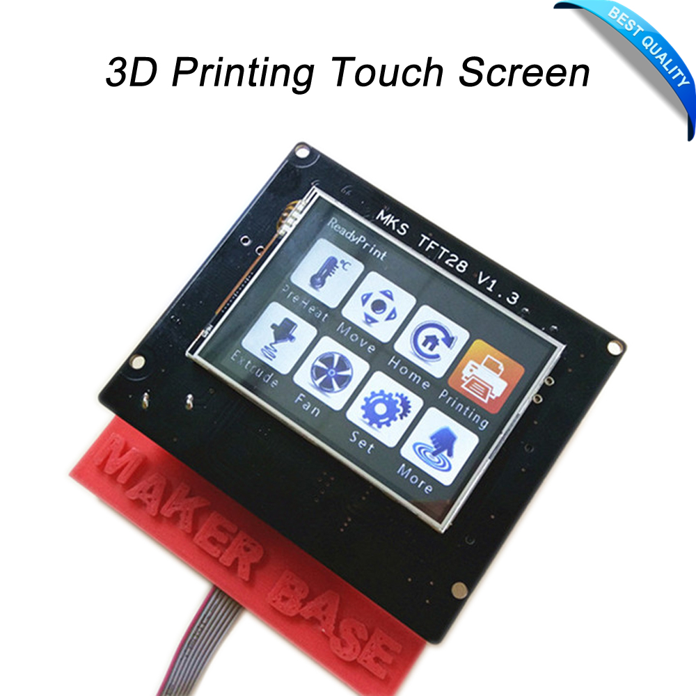 3D Printing Touch Screen RepRap controller panel MKS TFT28 V1.2 display color TFT support/WIFI/APP/outage saving local language<br><br>Aliexpress