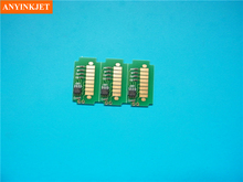 Hot new product for Roland AJ 740 printer cartridge chip for Roland AJ 1000 (1set 4 color)(China)