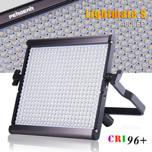 Pergear High CRI 96+ 480 LED Video Flat Panel Light Ultra Thin Dimmable 5600K 29W Dual Power Luz LED Photography Camera Light