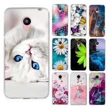 Case for Meizu M2 Mini Case 5 inch Ultra Soft TPU Skin Phone Cover for Meizu M2 mini Meilan 2 Silicon Fashion 3D Relief Printing