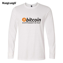 Buy Trendy Design Bitcoin Cryptograrhy Trust Men/Women T-Shirt 4Style Hipster Brand Long Sleeve 4XL Simple Summer Cotton Top for $11.35 in AliExpress store