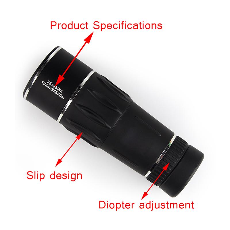 HD Monocular 35X95 10398500m High Power FMC Nitrogen Telescope for Hunting Travel Bird Watching Concert RL38-0009 (13)