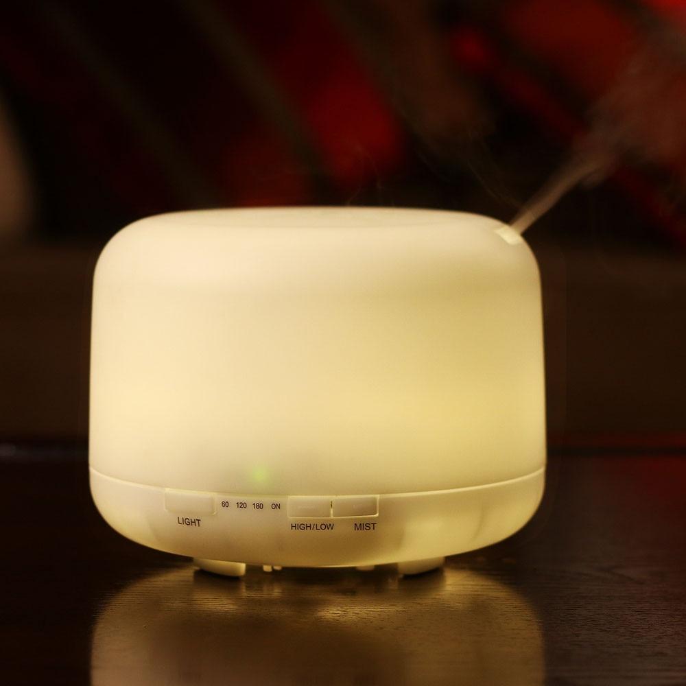 1Pc Multicolor Led Ultrasonic Portable Air Humidifier Atomizer Essential Oil Diffuser<br>