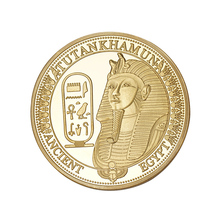 Ancient Egypt Sphinx Gold/Silver Plated Coins Commemorative Challenge Coin BTC491(China)