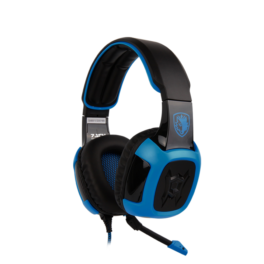 SADES Shaker 7.1 and Vibration Surround Sound Gaming Headset Gamer Headphones with Detachable Microphone for PC Computer<br>