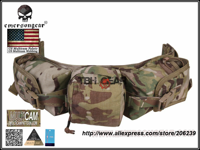 Emerson Gear Sniper Waist Pack Genuine Multicam 500D Military Tactical Waist Pack+Free shipping(SKU12050410)<br>