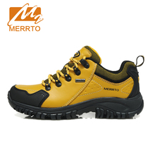 MERRTO Autum Women Walking Shoes Cowhide Outdoor Sneakers Waterproof Breathable Sports Shoes Brand Athletic Walking Shoes#18252
