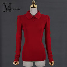 Plus Size Women Sweaters And Pullovers Autumn Winter 2017 New Arrival Knittted Sweater Ladies Christmas Sweater Red Black White(China)