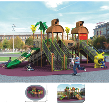 Antirot Kindergarten Wooden Playground Equipment CE/TUV/ISO Certified climbing net Safety Kids Outdoor Play Facilities