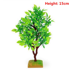 1 Pcs Sand Table Model Tree Green Simulation Plant Hot Selling(China)