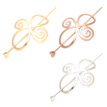 Korean Wild exaggerated hollow Athens hairpin for hairpins hair gripper(China)