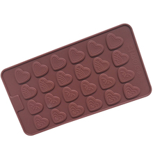Mini Heart Silicone Bakeware Fondant Cake Decorating Chocolate Mold Pastry Cooking Tools D637