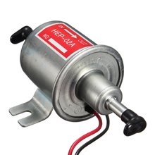 Universal for Diesel Petrol Gasoline 12v Electric Fuel Pump HEP-02A Low Pressure For Most Car Carburetor Motorcycle ATV(China)