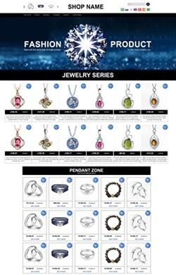 高端定制/珠宝首饰系列/高级模板k048