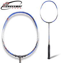 CROSSWAY 1PC badminton racket fitness training free shipping professional intermediate high quality outdoor indoor sportsT50(China)