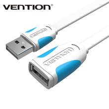 Vention USB Extension Cable Male to Female USB 2.0 Adapter Extender Mobile Phone Cable for PC Keyboard Printer Camera Mouse(China)
