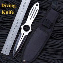 Professional diving knife camping tactical knives cs go Hunting Survival faca diagnostic-tool ganzo pocket hand tools