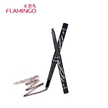 Livraison Gratuite Chine Cosmétique Top Marque Flamingo 1 Pcs 5 Couleurs Façonner Imperméable Rotation Automatique Eye Brow Crayon 5109