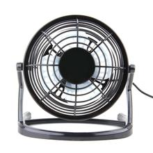 Fan USB Cooler Cooling Desk Mini Fan Portable Desk Mini Fan Super Mute PC USB Coolerfor Notebook Laptop Computer With key switch(China)
