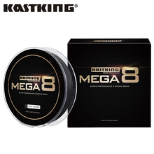 KastKing 2017 Mega 8 Brand 274M 8 Strands Japan PE Braided Fishing Line Multifilament Fishing Wire for All Fishing 10-80LB(China)