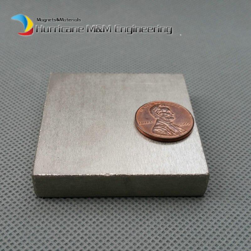 8 pcs SmCo Magnet Block 50x50x10 mm grade YXG24H, 350degree C High Temperature Permanent Magnets Rare Earth Magnets<br>