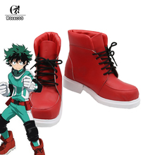 Buy ROLECOS Japanese Anime Hero Academia 2 Cosplay Shoes Izuku Midoriya Cosplay Shoes New Battle Costume Made Shoes for $42.53 in AliExpress store
