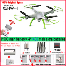Syma X5HW  FPV RC Quadcopter Drone with Camera WIFI RC Quadcopter with FPV Camera  Real Time RC Helicopter Quad copter Toys