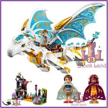 BELA Buidling Blocks 10550 Model Compatible Lepin Elves Long After The Rescue Cction 41179 Fairy Legoed Toys Children