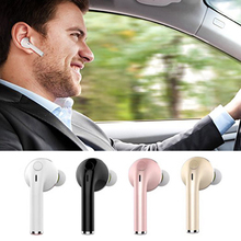Buy V1 Mini Wireless Bluetooth Headphones Sports Music Headset Stereo Handsfree Call Car Earphones Mic for $6.58 in AliExpress store