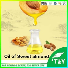 Hot Wholesale Natural Pure Sweet Almond Oil for Skin care, massage,Handmade Soap free shipping