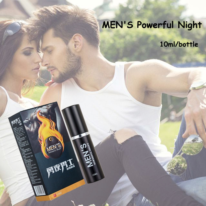2 boxes Delay Spray Male Products Enhance Men Sexual Pleasure 100% Herbs MEN'S Powerful Night(China)