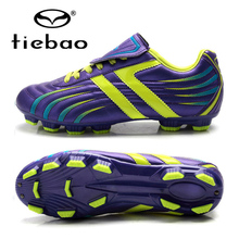 TIEBAO Professional Soccer Cleats Men Football Boots FG & HG Soles Shoes Sports Sneakers Scarpe Da Calcio Outdoor Athletic Boots