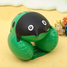 1 PCS Portable Inflatable Cute Beetle Arm Ring For Child Professional Aid Bands Swimming Pool Safely Float Ring Brachion(China)