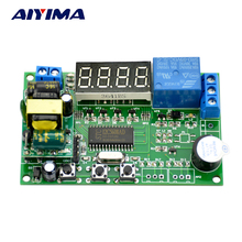 AIYIMA AC220V Delayed Relay On off Cycle Timing Programmable Module For Motor Pump LED Time Control(China)
