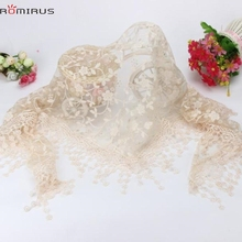 ROMIRUS Modern 2017 Newborn Baby Lace Blanket Maternity Baby Lace scarf Photo Props Photography Quilt Accessories Feb22