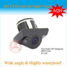 Free Shipping Security backup camera water-proof car reverse rear view camera for parking